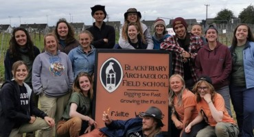 Blackfriary Community Heritage Archaeology Project; A virtual update