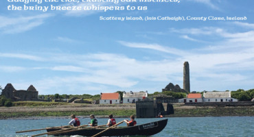 Scattery Island heritage group: Daoine agus Áit postcards and archive