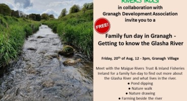 Family fun-day in Granagh: Getting to know the Glasha River
