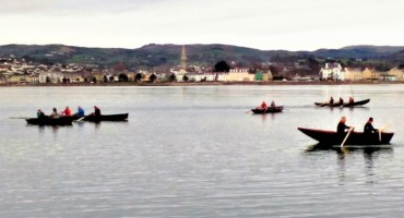 Taking to the water: Currachs on Carlingford Lough