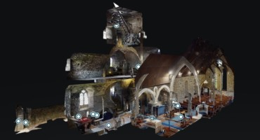 3D Virtual Tour of St Doulagh's Church and Bapistry