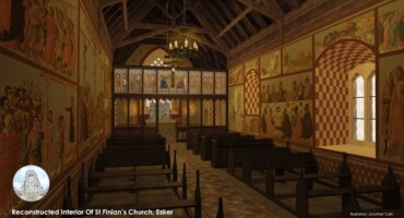 3D Visualisations -St. Finian's medieval church, Esker, Lucan, Co. Dublin