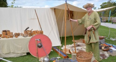 Viking experience at Clondalkin Round Tower