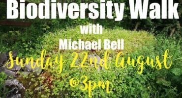 Biodiversity walk with Michael Bell