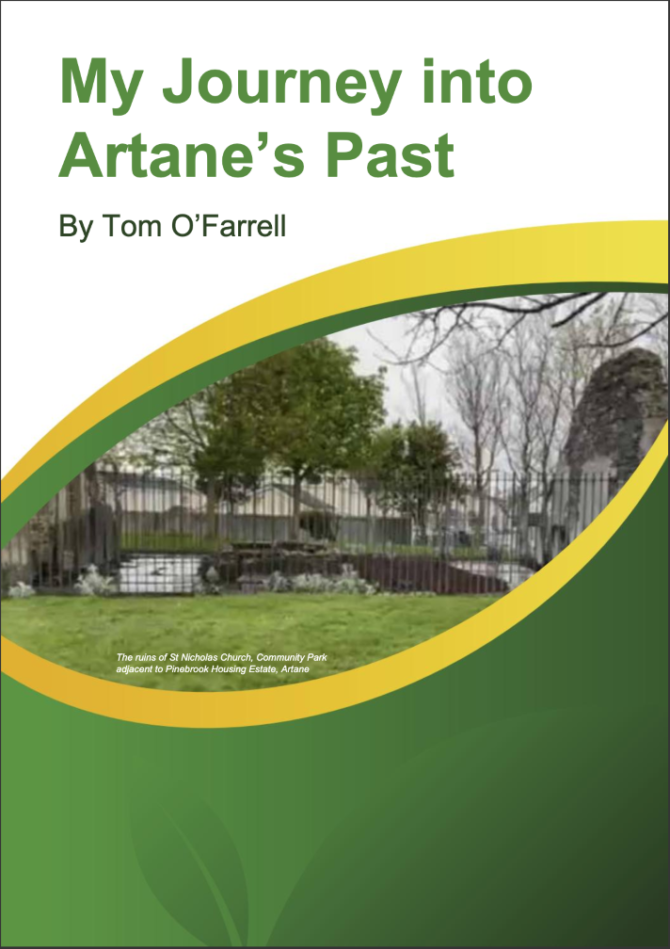 A book on the history of Artane over the ages