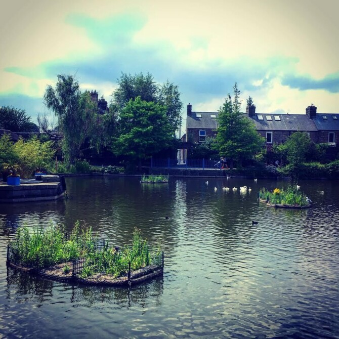Urban Water - An outdoor Classroom on Dublin's Royal Canal