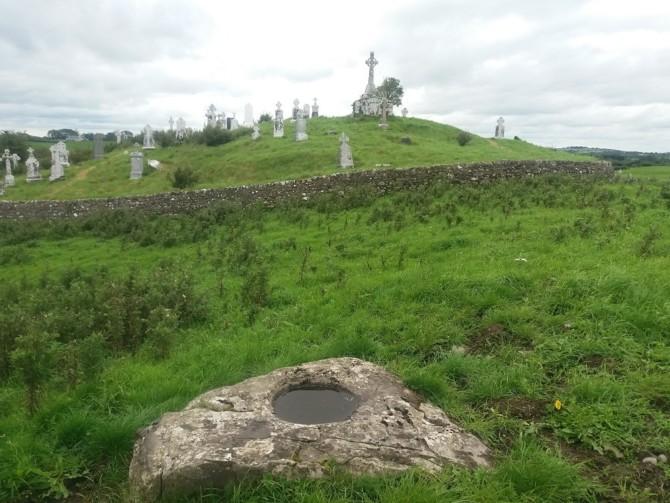 Boyounagh Cemetery, ecclesiastical enclosure