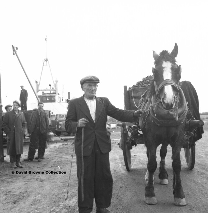 Clarecastle on film in the 1950s