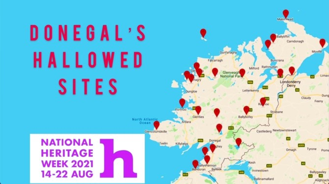 The Donegal Challenge - 25 hallowed sites during National Heritage Week