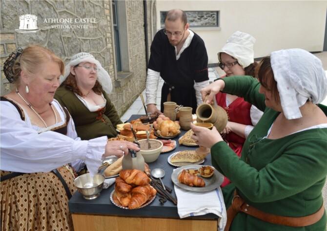 Feast at Athlone Castle 1210 with Susan Callaghan & Geraldine Clarke