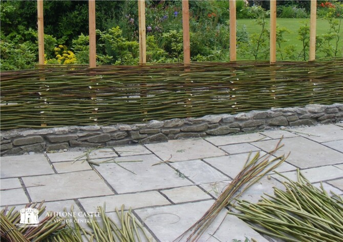Traditional Willow Fence & Hurdle-Making by Wicklow Willow