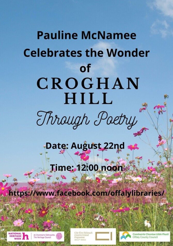 Celebrating Croghan Hill through Poetry