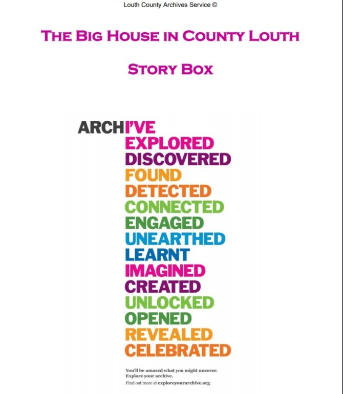 The Big House in Co Louth Story Box