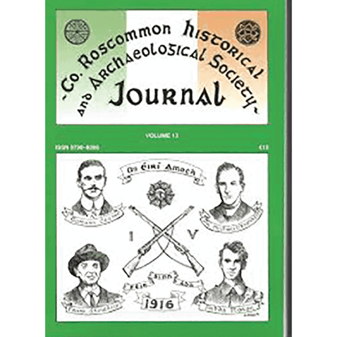Digitisation of County Roscommon Historical and Archaeological Journal