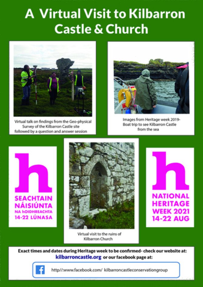 Kilbarron Castle & Church- A virtual visit